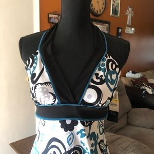 Tempted Halter Open Back Top NWT